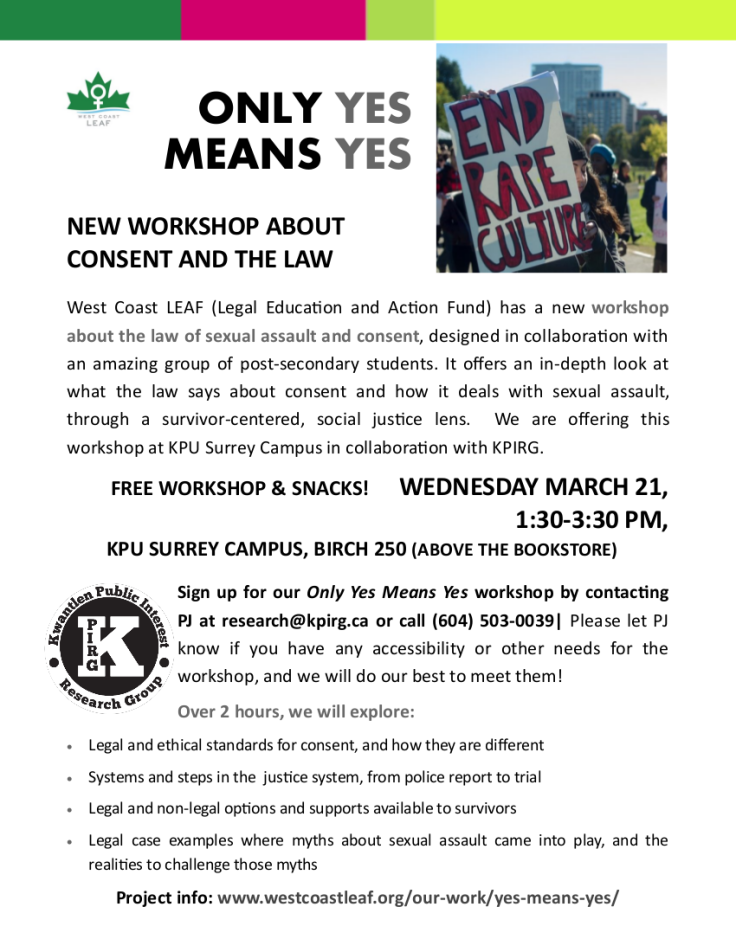KPU March 21 Only Yes Means Yes